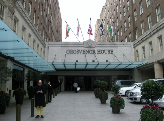 Grosvenor House, A JW Marriott Hotel: Entrance