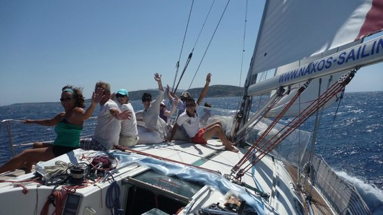 Naxos by, Hellas: ON BOARD S/Y ANNABELLA ON THE WAY TO KOUFONISSIA