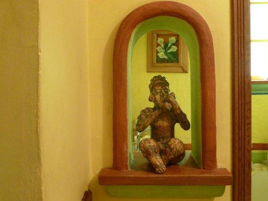Casa Venezuela: entrance to bathroom
