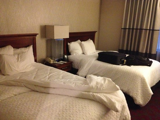 Embassy Suites by Hilton Dulles Airport : Comfy bedroom