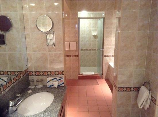 Monomotapa Hotel- Legacy : The bathroom was absolutely immaculately clean-well done