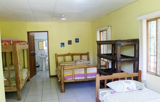 Martina's Place Hostel: our family room, sleeps 5. 2 pers. $55, 3 pers. $65, 4 pers. $75, 5 pers. $85