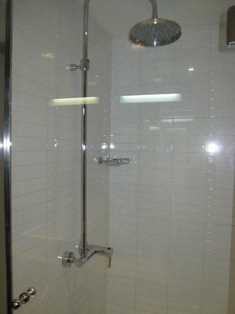Absolute Hotel: shower
