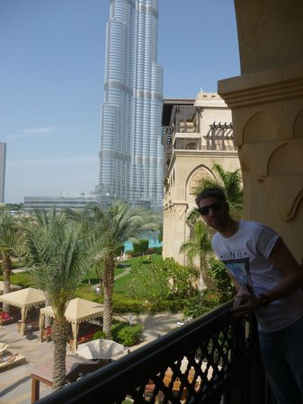 The Palace Downtown Dubai: my partner and the burj
