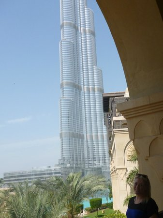 The Palace Downtown Dubai: burj khalifa