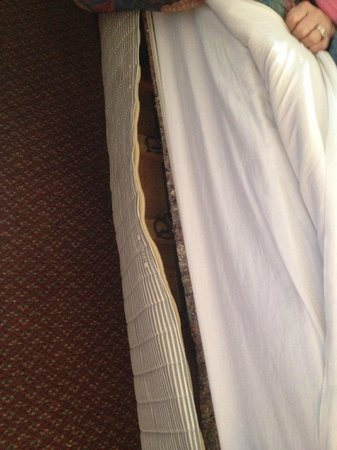 Hotel Don Fernando de Taos - TEMPORARILY CLOSED: Mattress torn completely open.