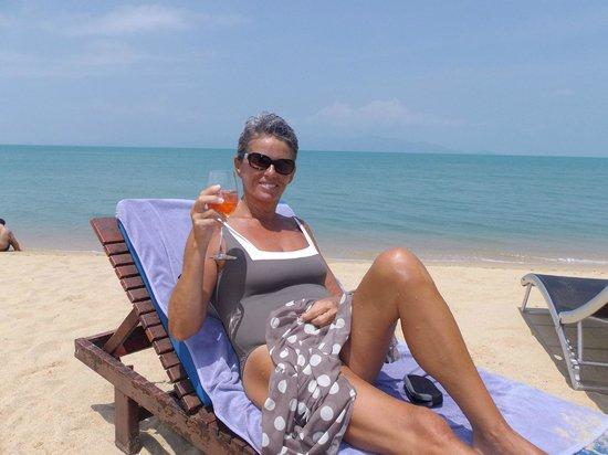 Hacienda Beach Resort: Cathy - Fréjus Un verre de rosé au paradis