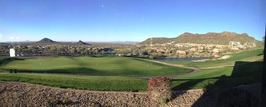 Inn at Eagle Mountain: View from Golf Club