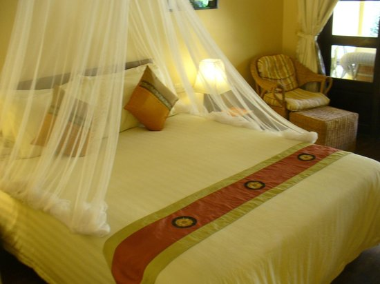 Pavillon d'Orient Boutique-Hotel: Double room facing the pool