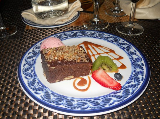 Sandos Caracol Eco Resort: Brownie en Los Lirios