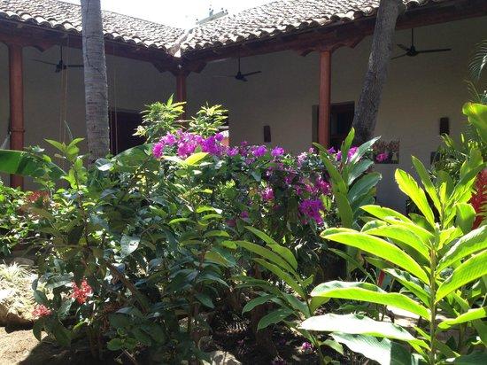 Hotel con Corazon: Tuin