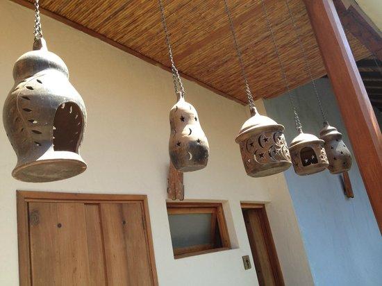 Hotel con Corazon: Het hotel is sfeervol aangekleed met bijvoorbeeld lokale keramiek
