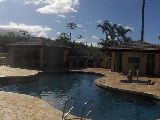 Maui Banyan Vacation Club: 1 of 2 outdoor pools