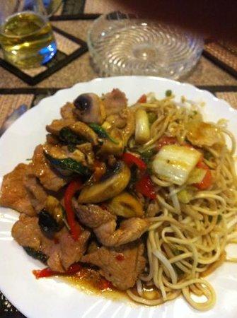 Chez Chan-Thai: porc baikapaou