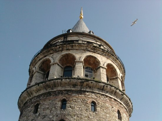 Anemon Galata: Galata Tower view from the terrace