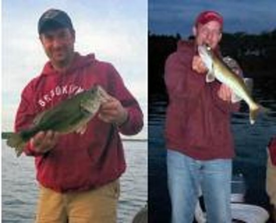Cedar Inn Motel: Great Fishing on Lake Minnewaska