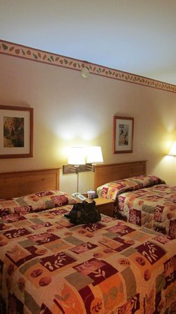 Unicoi State Park & Lodge: Two double bed room