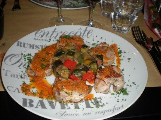 Chez Edgar: Pork Tenderloin & Harissa Sauce