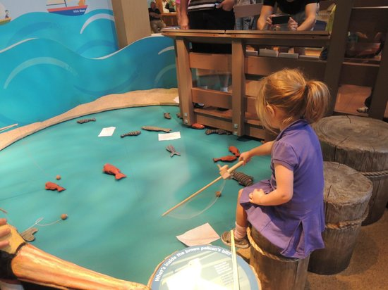 Golisano Children's Museum of Naples: Kids think it's fun to fish at Golisano, one of many things to do.