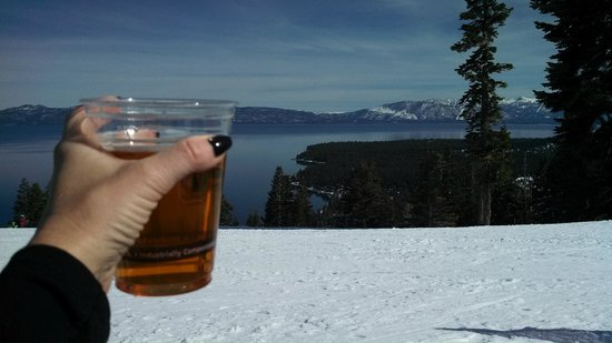 Homewood Mountain Resort: A great day at the Big Blue View Bar