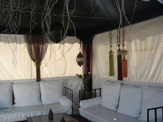 Riad Andalla: Il terrazzo