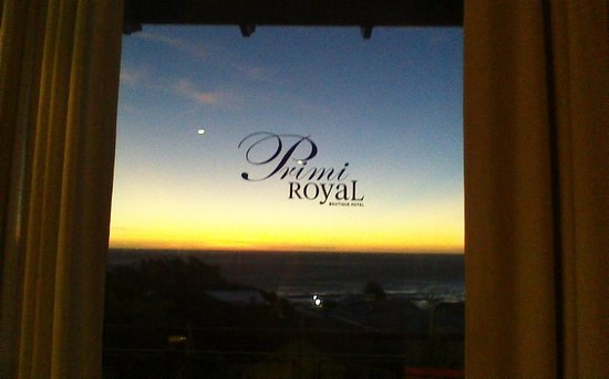 Primi-Royal: Veiw from our room