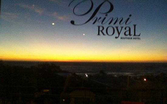 Primi Royal: Another view from inside the room