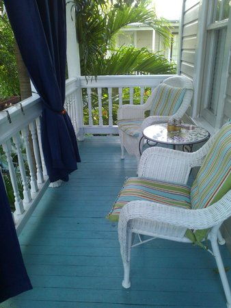 Coco Plum Inn Bed and Breakfast: Our balcony