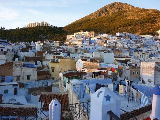 Riad Baraka: Vue de la terrasse