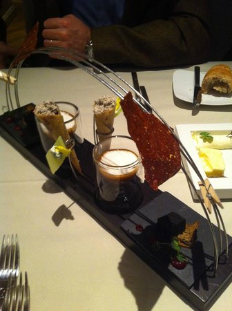 Alexander Herrmann's Posthotel (Romantikhotel): cappuccino di crma di tartufo
