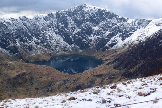 The Old Rectory on the Lake: View Cader Idris Trek