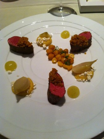 Herrmanns Romantik Posthotel: filetto di agnello