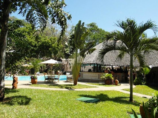 The Maridadi - Baobab Resort: Bar piscine Maridadi