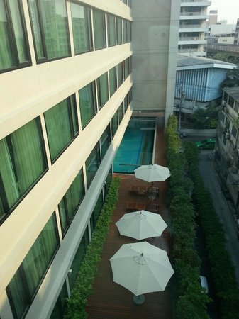 Vic3 Bangkok: View from the room