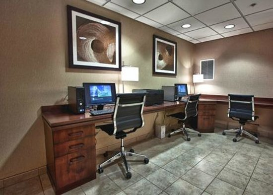 Comfort Inn Shelby: Business Center