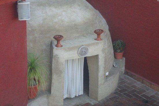 La Casa del Volcan: Temazcal,