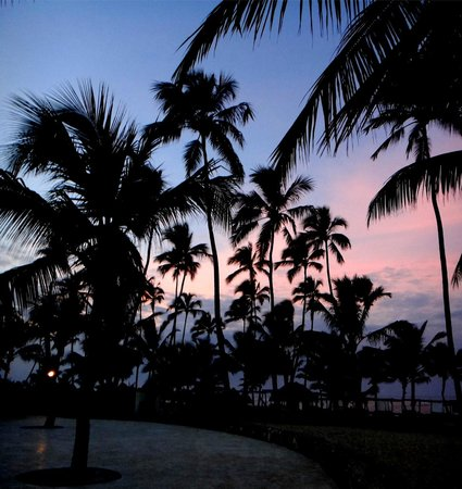 Dreams Punta Cana Resort & Spa : Sunset at Dreams