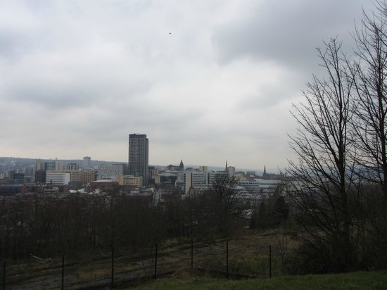 view from The Cholera Monument