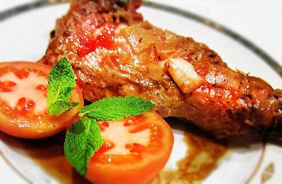 Restaurante Casa Manolo: Cordero al horno