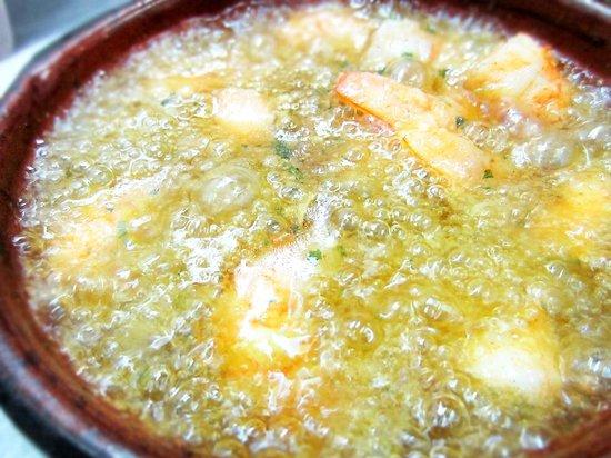 Restaurante Casa Manolo: Langostinos al pil pil
