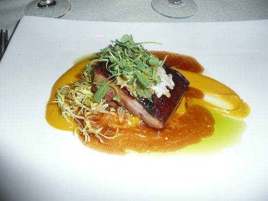 Windows on the Water: Amazing pork belly!