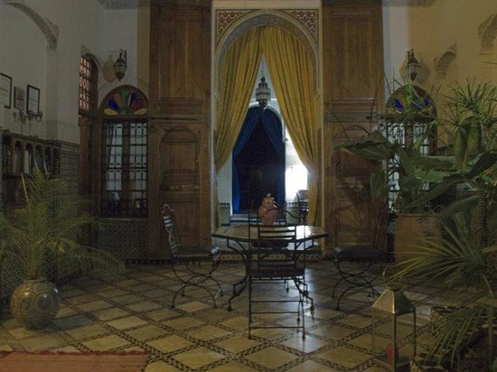 Riad Laayoun: le grand patio