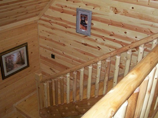 Some Cabins Require Walk Ups Picture Of White Oak Lodge