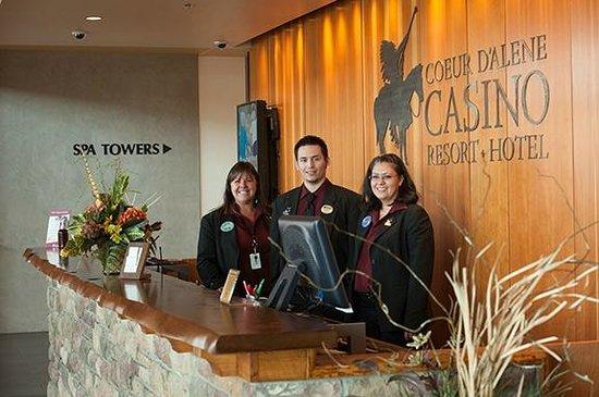 Coeur D'Alene Casino Resort Hotel: Spa Tower Hotel check in