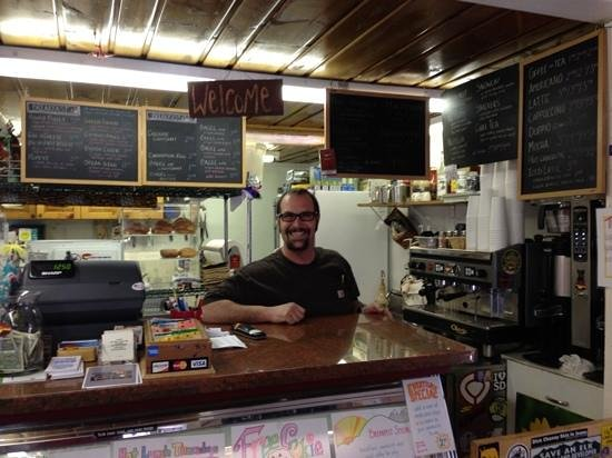 Red Canyon Cafe: Ryan is waiting to serve you.