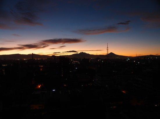 Hotel El Ejecutivo: sunrise