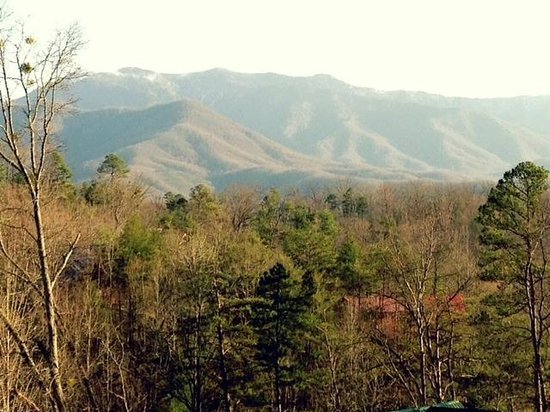 Elk Springs Resort: view from our porch