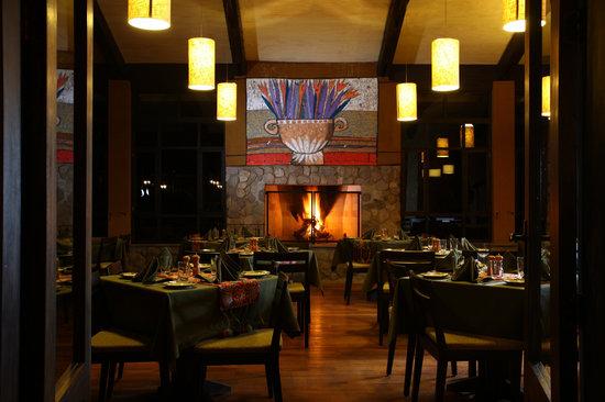 Wayra : The dining room
