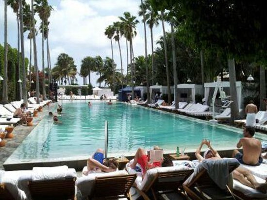Delano South Beach Hotel: Pool