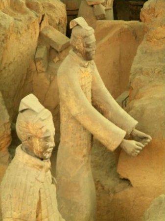 Tomb of Emperor Qin Shi Huang: un tres grand soldat